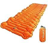 Sleeping Pad Camping Mattress Air Sleeping Mat Ultralight Inflatable Outdoor Foldable