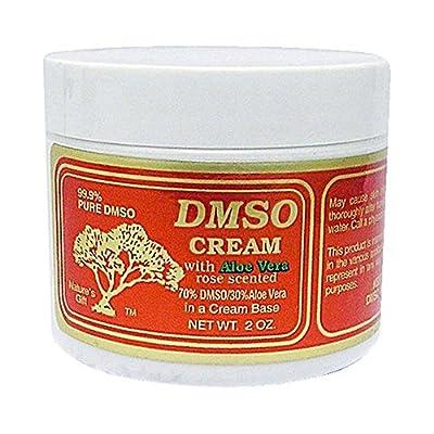 DMSO Cream with Aloe Vera Rose Scented