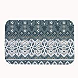 The doormats are professionally printed. Design will look great with decorative artwork. Super cute and provides great style to your entry way !Features: The doormats is of high quality product with coral fleece and water absorption function ...