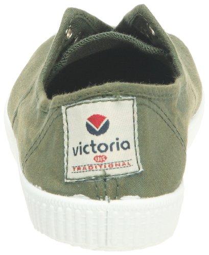 Victoria Inglesa Elastico Tenido Punt - Zapatillas de deporte de tela para mujer Kaki