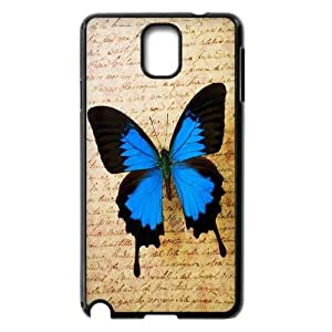 High Quality Phone Back Case Pattern Design 5Colorful Butterfly- For Samsung Galaxy NOTE3 Case Cover