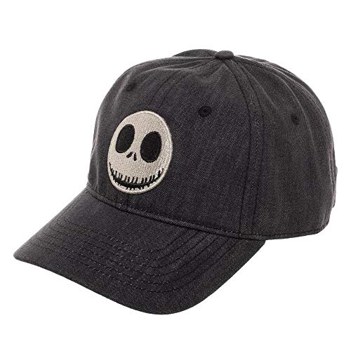 The Nightmare Before Christmas Accessories (Jack Skellington Snapback Hat Nightmare Before Christmas Accessory Jack Skellington Gift - Jack Skellington Hat Nightmare Before Christmas)