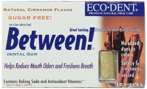 Between Dental Gum, Cinn, 12-Count (Pack of 12)