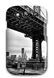 Jerry marlon pulido's Shop Hot 8551992K27674708 Tpu Case Skin Protector For Galaxy S3 Manhattan Bridge With Nice Appearance
