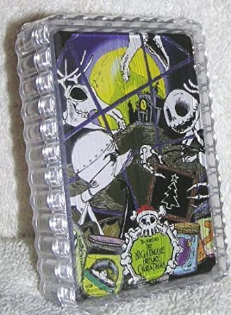 Buy Rare Disney Nightmare Before Christmas Deck of Playing Cards ...