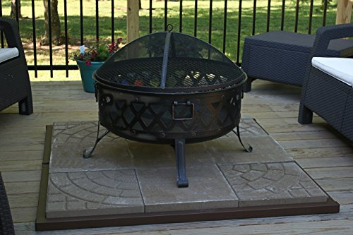 Paver Fire Pit Home Design Ideas