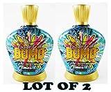 LOT OF 2 Designer Skin Colorbomb Color Bomb - 12x Color Explosion Bronzer 13.5 Oz