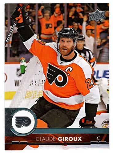 Claude Giroux (Hockey Card) 2017-18 Upper Deck # 388 - 388 Mint