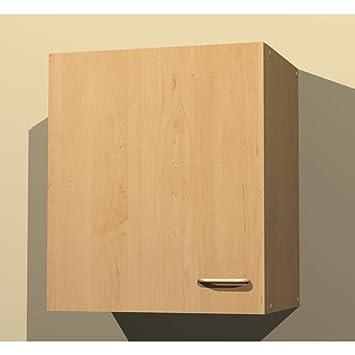 Küchen Hängeschrank in verschiedenen breiten Start Melamin Buche/Buche  (50cm breit)