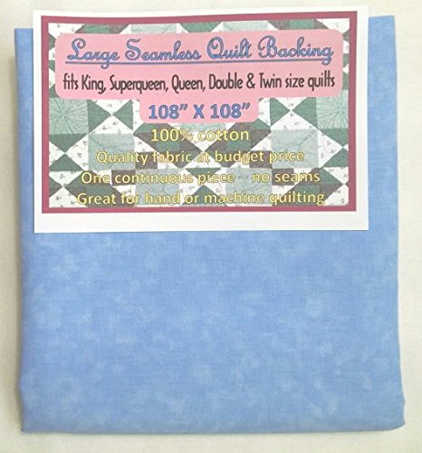 Quilt Backing, Large, Seamless, C44395-202, Light Blue