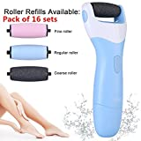 TALIKE Electric Callus Removers for feet Callus Eliminator Foot File Scrubber Removes Callouses – Best Foot Care Pedicure Tool GIFT (16 pack) Review