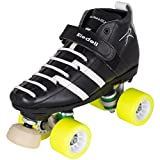 Riedell 265 Wicked Womens Derby Roller Skates 2014 7.0 Black