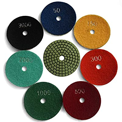 Easy Light Diamond Wet Polishing Pads Grit 30-3000 by Fujian Yida Nano Materials Technology Co. Ltd