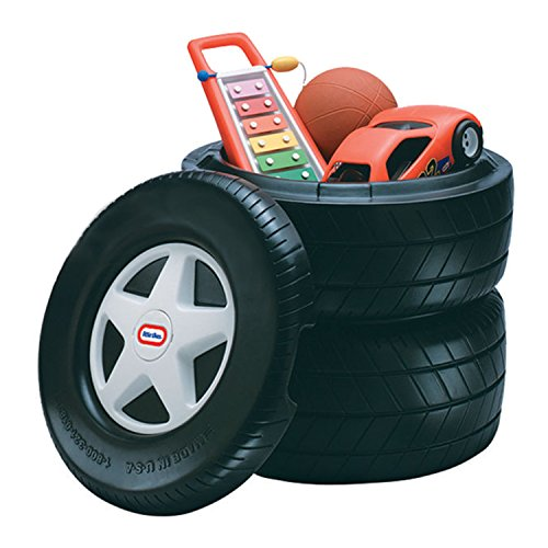Little Tikes Classic Racing Tire Toy Chest ()