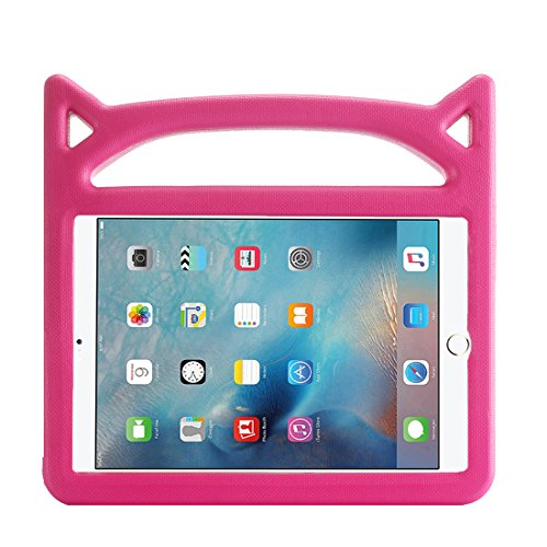 Lmaytech iPad 9.7 2018 & 2017 Release/iPad Air Case, Light Weight Shock Proof Handle Stand Case Cover Kids Friendly Apple iPad 9.7