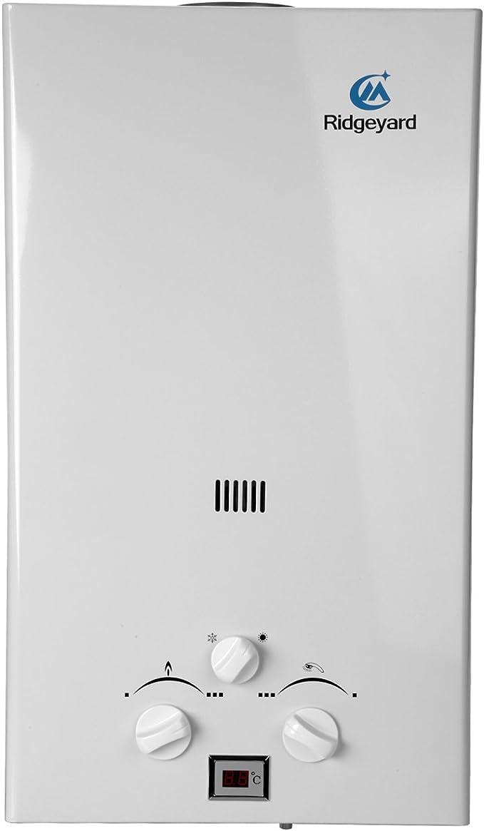 10L GLP Propano Gas Calentador instantáneo caliente