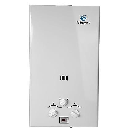 iglobalbuy 10L GLP Propano Gas Calentador instantáneo caliente calentador de agua caldera