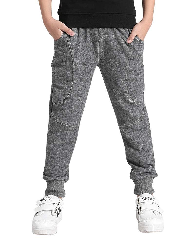 Liangzhu Pantaloni Cintura Elastica Sportivi Fitness Casual Addensare Caldo Jogger Pantaloni per Ragazza Ragazzi