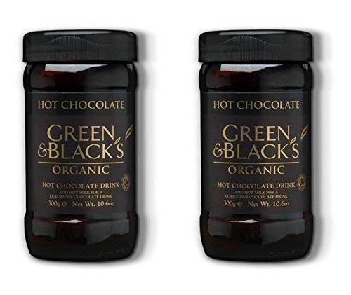 (2 PACK) - Green /Bl Hot Chocolate - Organic & Fairtrade| 300 g |2 PACK - SUPER SAVER - SAVE MONEY
