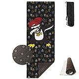 Dabbing Penguin Printed Yoga Mats, Incredibly Comfortable Yoga Mats - Beautiful, Durable Sports Mats - Soul Obsessed