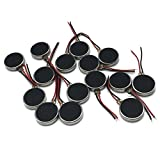 OLSUS 16Pcs DC 3V 12000RPM Two Wired 10mm x 3mm Coin Cell Phone Vibration Motors