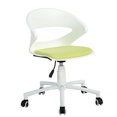 Yeefanltd Silla de computadora con diseño Moderno, Silla de Oficina giratoria Ajustable, Respaldo de