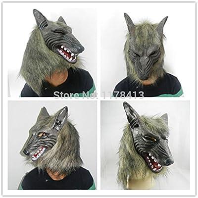 2015 – Lobo Hombre lobo máscara disfraz de Halloween Party mitad ...