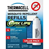 Thermacell Mosquito Repellent Max-Life Refill Pack for Repellers, Blue