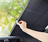 Le Remio Car Windshield Sun Shade, Retractable Sun Shade for car...