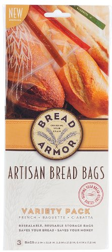 Bread Armor Bread Storage Bags, 3-Pack Variety Set 16606