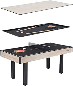 Amazon.com : Snow Shop Everything 3-in-1 Billiards/Table ...