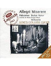 Allegri: Miserere/ Palestrina: Stabat Mater