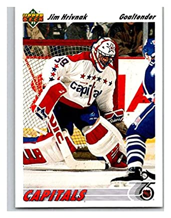 177f8075b69 Amazon.com  (CI) Jim Hrivnak Hockey Card 1991-92 Upper Deck (base ...