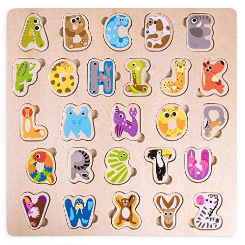Professor Poplar's Animal Alphabet Puzzle Board | Children's 11