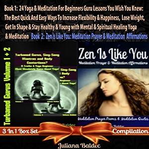 Yoga and Meditation for Beginners Guru Lessons Audiobook
