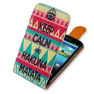 PEACH Crown Pattern Up-down Turn Over PU Leather Full Body Case for Samsung Galaxy S3 I9300