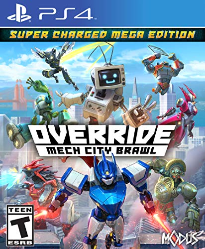 Override: Mech City Brawl - Super Charged Mega Edition - PlayStation -
