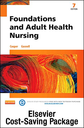 Foundations and Adult Health Nursing - Text and Mosby's Nursing Skills DVD - Student Version 4.0 Package, 7e by Mosby