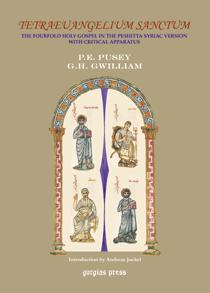 Tetraeuangelium Sanctum: Syriac Gospels- Critical (Latin and English Edition) PDF