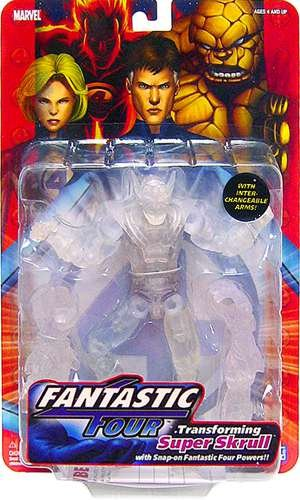 with Fantastic Four Action Figures design