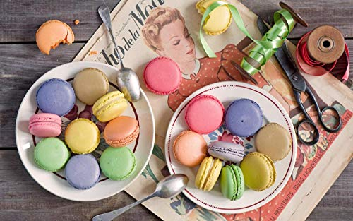 Macarons 1000 Pieces of Jigsaw Puzzle 1000 Pieces of Adult Education Wooden Toys Children's Kids Games