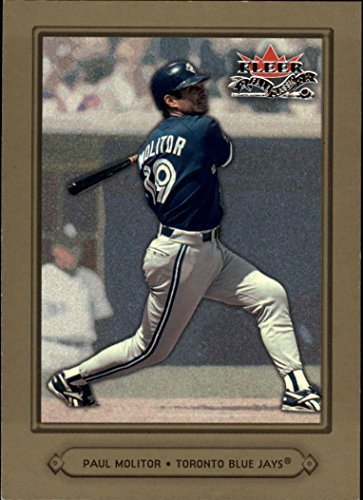 2002 Fleer Fall Classics #7A Paul Molitor Blue Jays