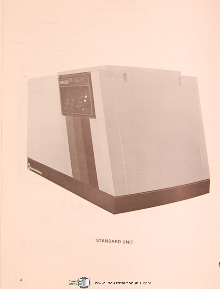 Ir Ssr 2000 Schematic Wiring Diagram Pictures Ram Air Compressor Ingersoll Rand Parts List Manual Rh Amazon Com Triac Relay
