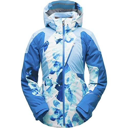 - Spyder Women's Leader Jacket Frequency Turkish Sea/Blue Ice/Turkish Sea 6