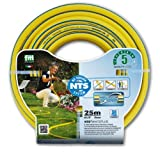 Layflat FWP1/2255-Ply Professional Garden Hose 1/2Inch NTS 25m Bend and Anti-Torsion Fitt Water Hose, Yellow, 35,935,9x 9cm