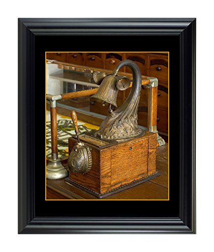 812-Niagara Apothecary Perfume Sampler; Framed with rebate border, plexiglass and available in 24