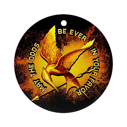 CafePress - Hunger Games Grunge Ornament (Round) - Round Holiday Christmas Ornament