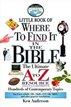 Little Book of Where to Find it in the…