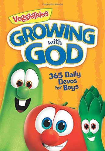 Growing with God: 365 Daily Devos for Boys (VeggieTales)