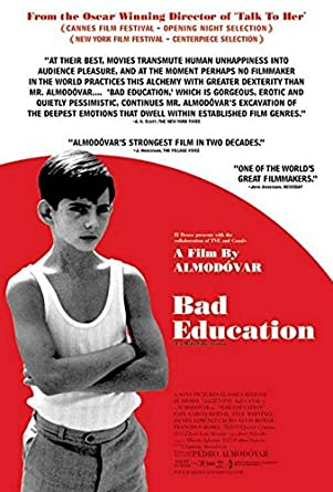 The Good And Very Very Bad Education >> Bad Education 27 X40 Original Movie Poster One Sheet 2004 Pedro